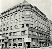 Masonic Hall Dittrichova 9 in 1938