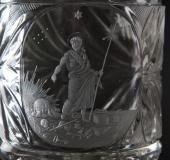 Bohemian St. John glass ca 1830