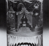 Bohemian glass 1800