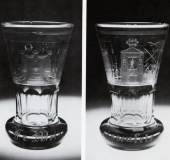 Bohemian glass bro Weissenfels 1830