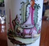 Milk glass beaker, Bohemia late 18th century