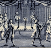 Print Festive Board London 1738