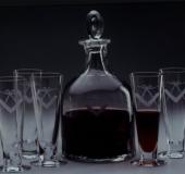 Masonic drinking set, Prague 2000