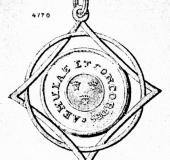 Jewel lodge Three crowned stars, Aemulate et Concordes, Donnebauer.