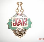Jewel lodge Komenský Prague 1918