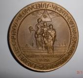 Medal lodge Lafayette Olomouc for the general public 1934