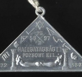 Jewel Verschwiegenheit 1897 rv