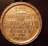 Jewel lodge Wahrheit und Einigkeit Prague 1931 av