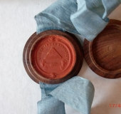 Red wax seal lodge W&E