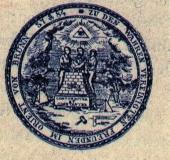 Seal odge zu den wahren vereinigten Freunden Brno 1784