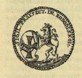Seal Prefecture Rodomskoy Prague